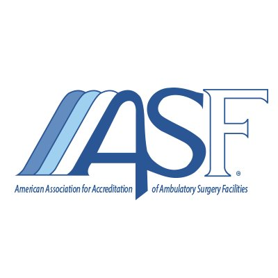 ASF - American Association for Accreditation of Ambulatory Surgery Facilities logo.