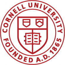 Cornell University Founded A.D. 1865 - logo.