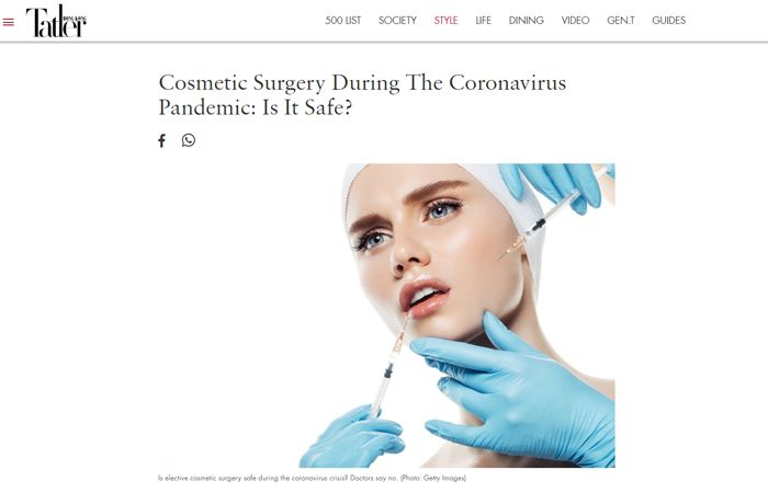 Cosmetic Surgery During The Coronavirus Pandemic: Is It Safe?