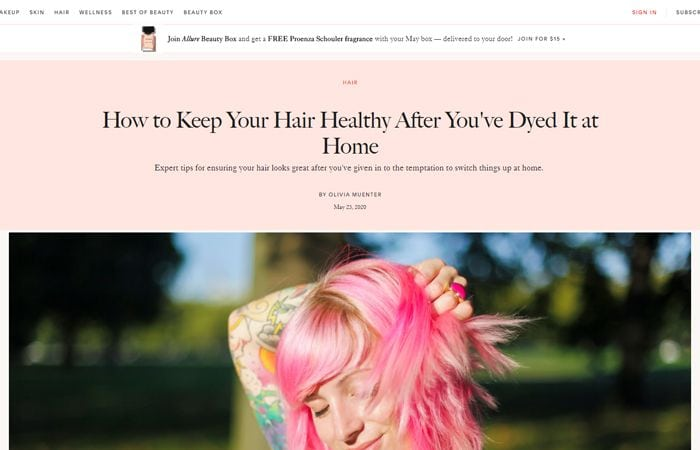 How to Keep Your Hair Healthy After You've Dyed It at Home