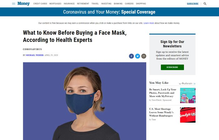 What to Know Before Buying a Face Mask, According to Health Experts