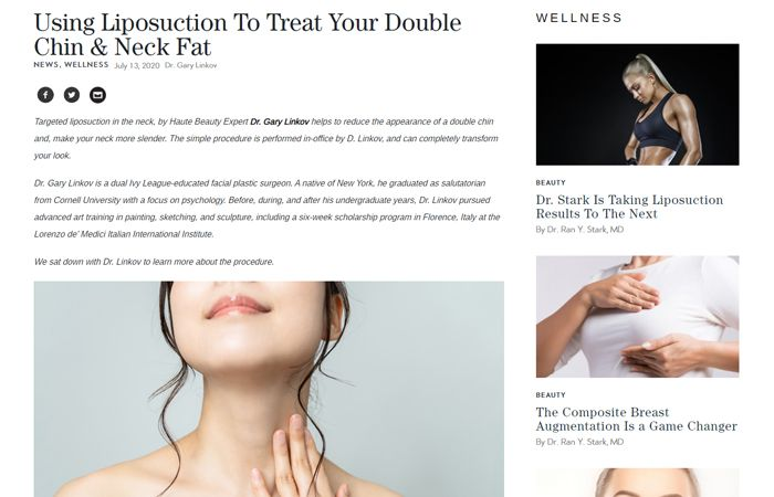 Using Liposuction To Treat Your Double Chin & Neck Fat